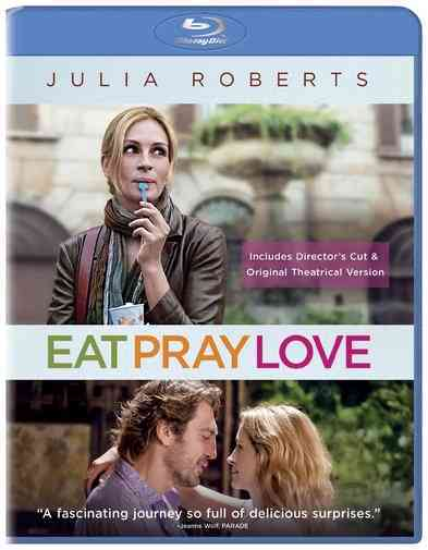 EAT PRAY LOVE BY ROBERTS,JULIA (Blu-Ray)